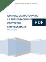 Manual Proyecto Empresarial