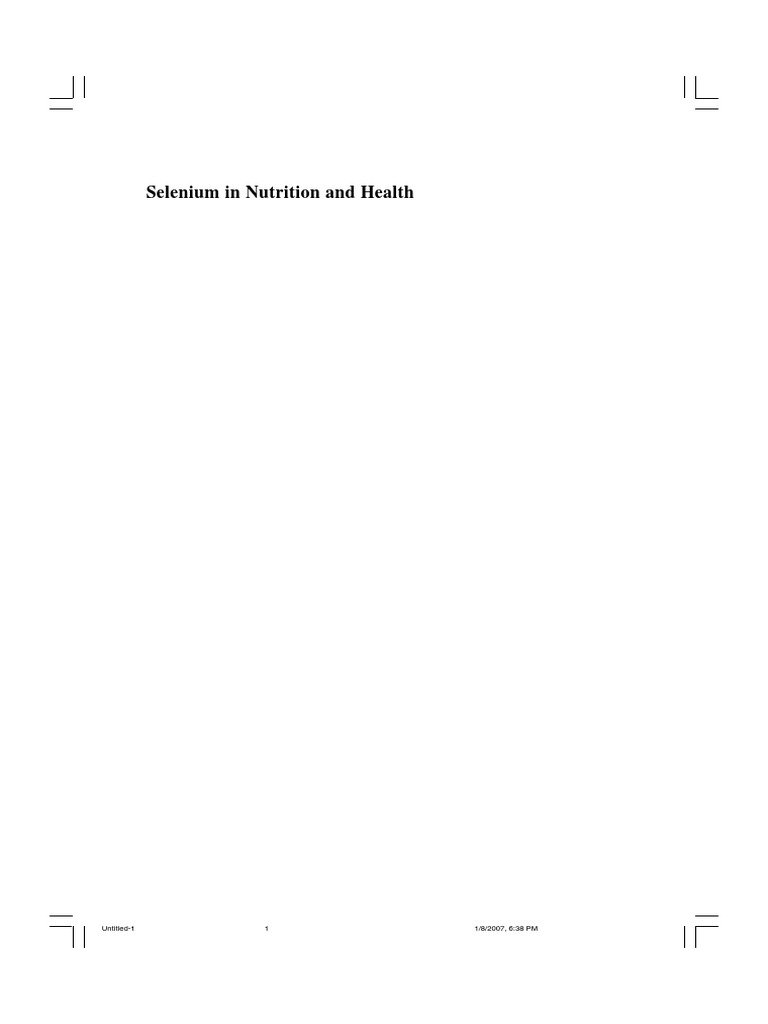 Surai Livro Selenium 2006 Brazil | Selenium | Antioxidant