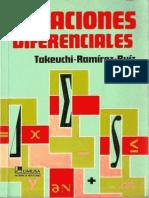 Tu Takeuchi Ecuaciones diferenciales