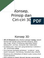 Konsep 3D