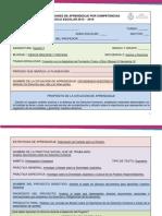 Diseño Didácticos de Situaciones de Aprendizaje Por Competencias (Proyecto 2)