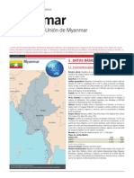 Myanmar Ficha Pais
