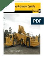Material Linea Productos Caterpillar Ferreyros Comparacion Rendimiento Productividad Sistemas