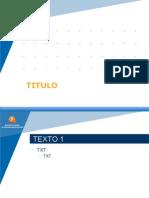 modelo de presentación DG-MMUU