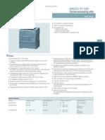 S7-1200 Especificaciones Técnicas