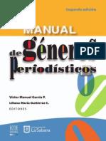 Manual de Generos Periodisticos