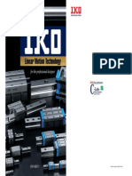 IKO Bearings Catalog Linear Motion Guide Series