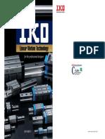 IKO Bearings Catalog Linear Motion Guide Series