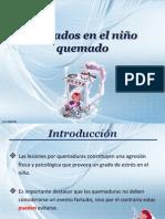 Cuidados en El Nino Quemado 2013