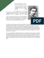 Biografía de Daniel Alcides Carrión
