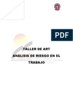 Manual Part Taller Art Anal is is Riesgo Trabajo