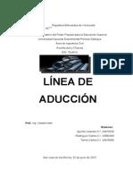 Lineas de Aduccion