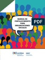 manual para organizaciones sociales Uruguay