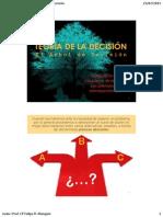 Teoría de La Decisión - El Árbol de Decisión