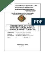 BASES LEGALES DEL PERITAJE CONTABLE JUDICIAL