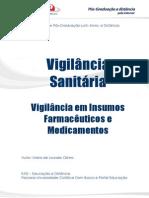 Vigilancia Sanitaria Em Insumos Farmaceuticos e Medicamentos Versao Final Corrigido