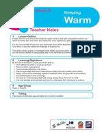 L9 - Keeping Warm