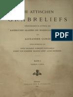 CONZE - Die Attischen Grabreliefs I Taf. (1893)