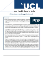 Healthcare in India July 2013