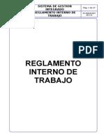 reglamento Interno de Trabajo 1