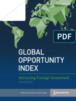 2015 Global Opportunity Index Milken Institute