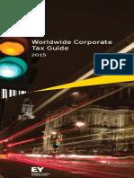 EY Worldwide Corporate Tax Guide 2015