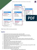Hr Schema Queries and Pl SQL Programs