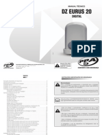 Manual Tecnico DZ Eurus 20 Digital