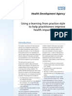 Using a Learning From Practice to Improve HIA - HDA England - 2004