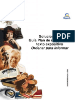 Solucionario Clase 4 CAC guía Plan de redacción y texto expositivo. Ordenar para informar 2015.pdf