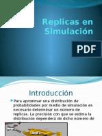 Replicas en simulación presentación