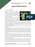 Foro de Discusión Virtual