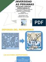 Defensa Del Patrimonio
