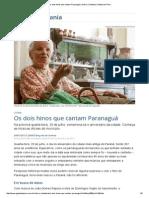 Os Dois Hinos Que Cantam Paranaguá _ Vida e Cidadania _ Gazeta Do Povo