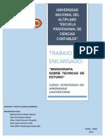 Monografia Tecnicas de Estudio Unap