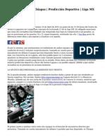 Santos Laguna vs Chiapas | Predicci?n Deportiva | Liga MX Clausura 2015