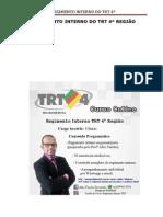 Regimento Interno TRT 4 - Destacado e Esquematizado