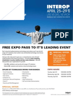 Interop Las Vegas Free Expo Pass