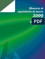 Corte Inglés - Memoria de seguimiento de marca 2009