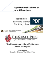 Building Culture on Correct Principles