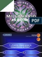 21 Preguntas Historia de Chile 6 Basico