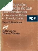 Introducción Al Estudio de Las Perversiones-Hugo Bleichmar
