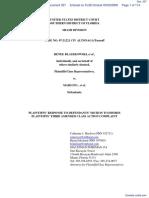 Blaszkowski et al v. Mars Inc. et al - Document No. 337