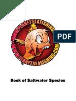 Book of Saltwater  Species