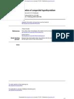 Genetics of Congenital Hypothyroidism