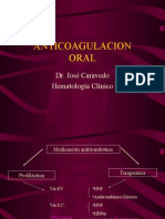 anticoagulacion oral.ppt
