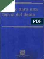 Esbozo Para Una Teoria Del Delito - Fernando Laffite