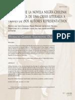 Notas Sobre La Novela Negra Chilena Sintomática de Una Crisis Literaria a Través de Dos Autores Representativos - Atenea - Simunovic 2008