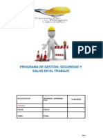 Programa Salud Ocupacional