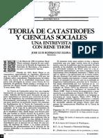 René Thom de La Teoria de Las Catastrofes.